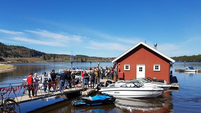 Sluseporten Båtcafe, Ørje