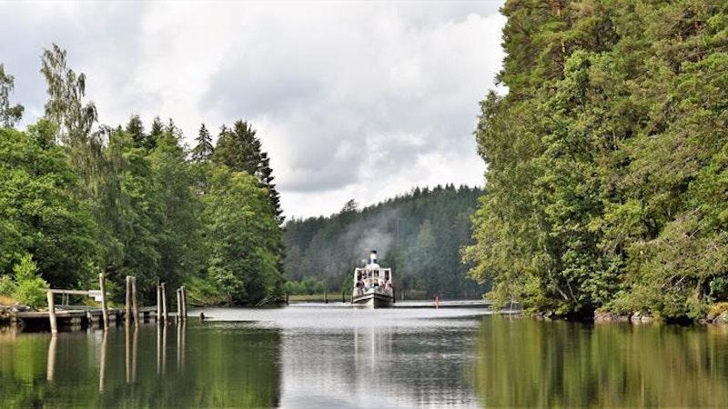 D/S Turisten: Båttur på Haldenkanalen