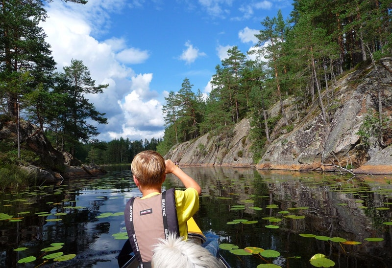 Canoe trip with overnight stay