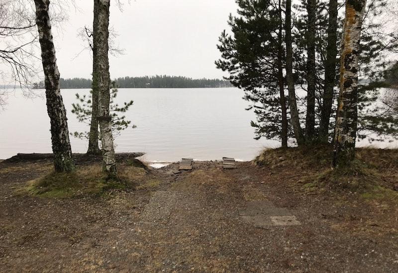 Båtramp Östra Laxsjön