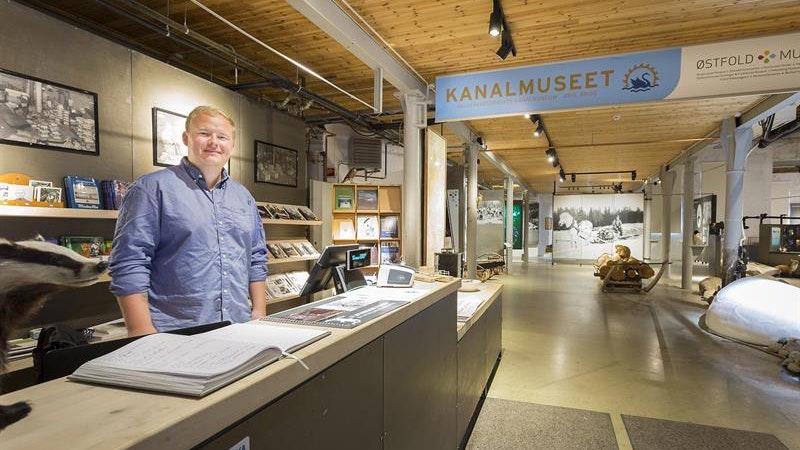 Haldenvassdragets Kanalmuseum, Ørje
