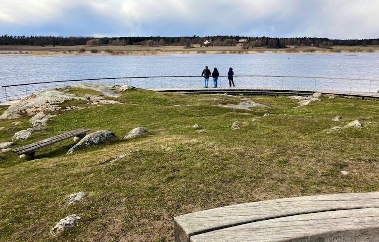Utsiktsplats Byksberget. Foto: Åsa Lagerlöf