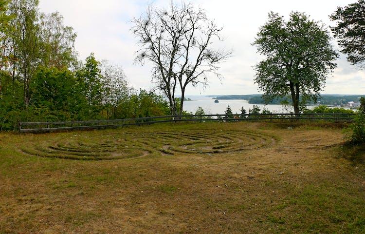 Drottnings Kristinas labyrint.