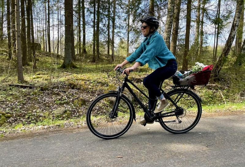 Cykla i vackra landskap - foto: Linnéa Björk