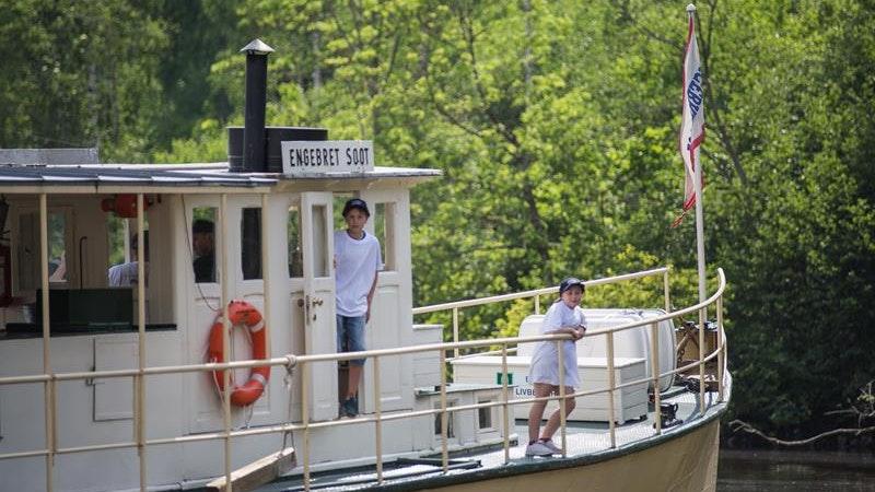 D/S Engebret Soot: Båttur på Haldenkanalen