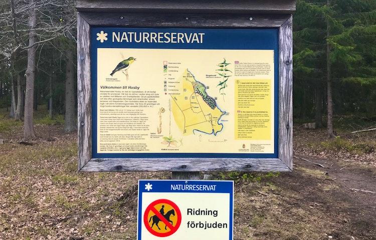 Naturreservatet Husby på Munsö. Foto: Lena Malmström